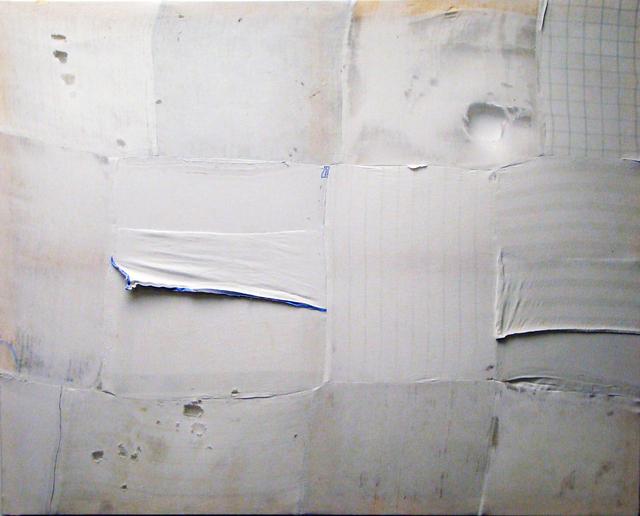 Gerard Torres, 'La pieza perdida', 2017, Painting, Pathchwork of differents fabrics, ready made, HABA GALLERY