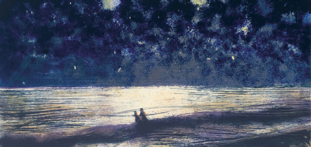 , 'Into the Sea,' 2017, Bridgeman Editions