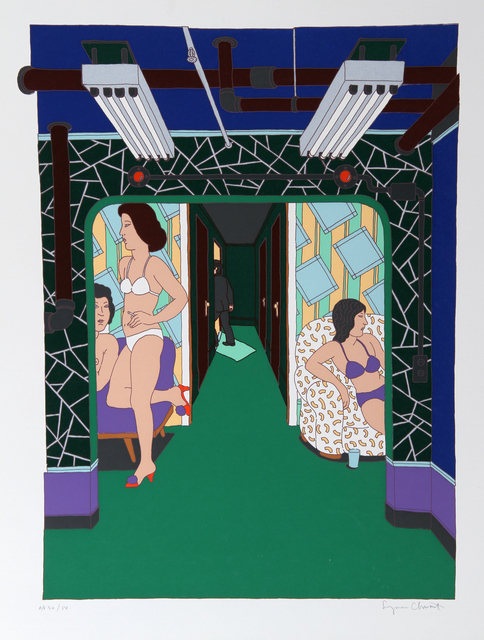 Seymour Chwast, 'The Massage Parlor', ca. 1979, RoGallery