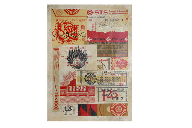 Shepard Fairey, 'Station to Station 3', 2012, Chiswick Auctions