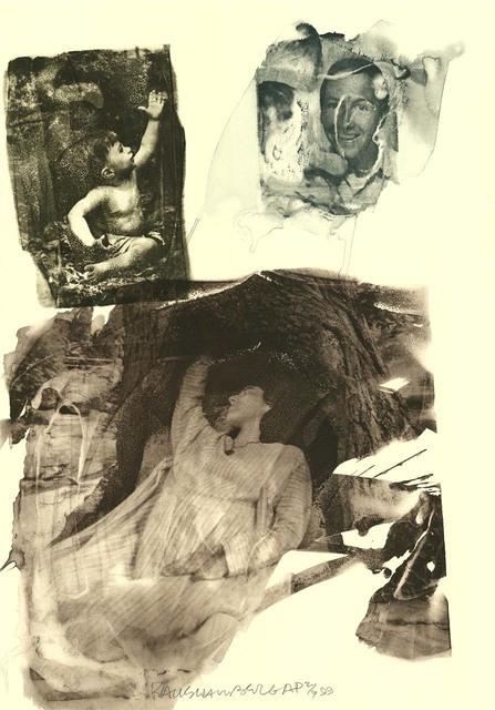 Robert Rauschenberg, ''topher (Ruminations)', 1999, Intaglio, Robert Rauschenberg Foundation