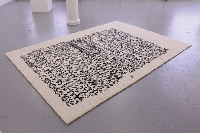 , 'fig.a, a comme alphabet (carpet, 2012),' , Albert Baronian