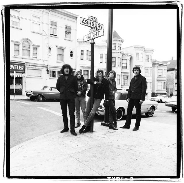 , 'Dead on Haight Street,' 1967, de Young Museum