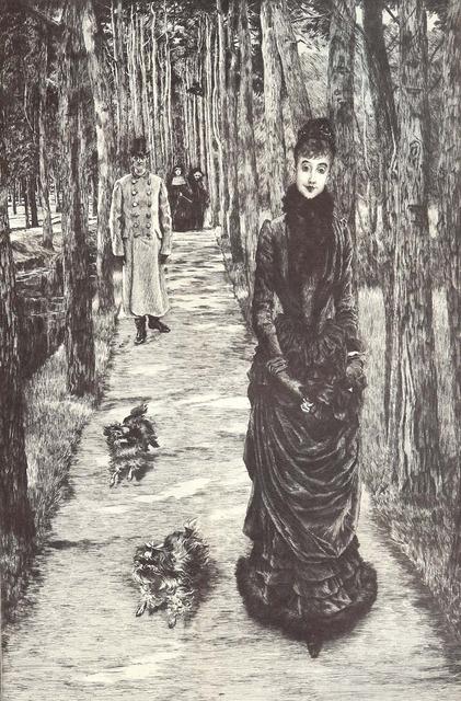 , 'La Mystérieuse,' 1885, Contessa Gallery