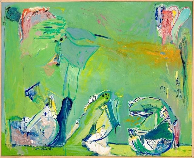 , 'Paisaje verde,' 1980, Rafael Pérez Hernando Arte Contemporáneo
