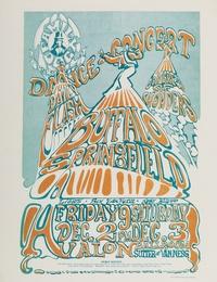 Buffalo Springfield: a very rare colour variant U.S. concert handbill