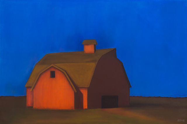 , 'Barnside,' , Merritt Gallery