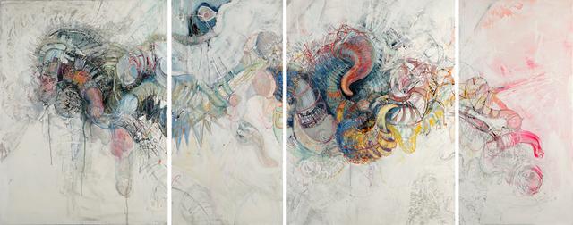 , 'Groan (Quadriptych),' 2018, Sulger Buel Gallery