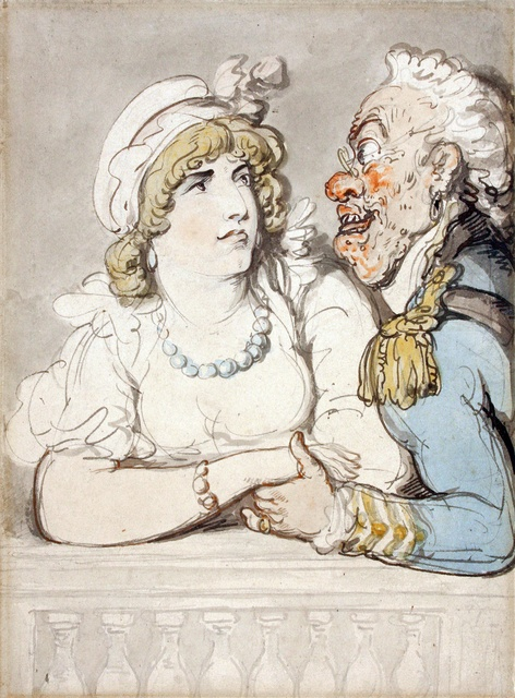 , 'Beauty and The Beast,' ca. 1810, Chris Beetles Gallery
