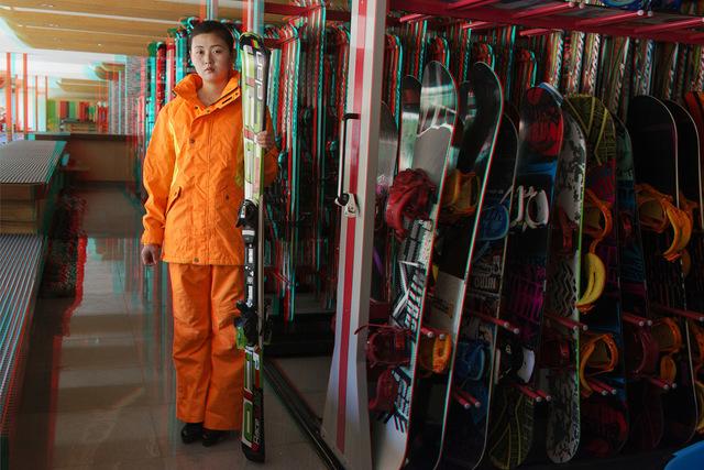, ' #101. KIM SOL JU, 21, Server, Masik Ryong Ski Resort Hotel           Equipment Rental,' 2014, Pékin Fine Arts