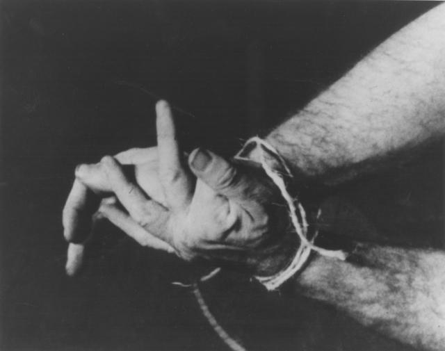Richard Serra, 'Hands Tied', 1968, Kunstmuseum Basel