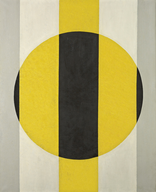 , 'Symphony in Gray, Yellow, Black,' 1969, Vallarino Fine Art