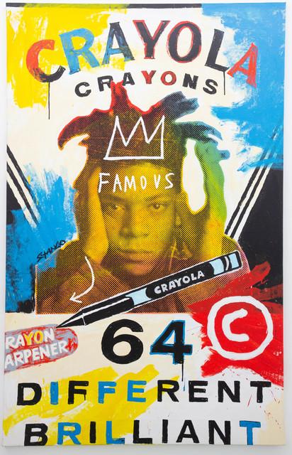 John Stango, 'Basquiat Crayola', ca. 2018, The Compound Gallery