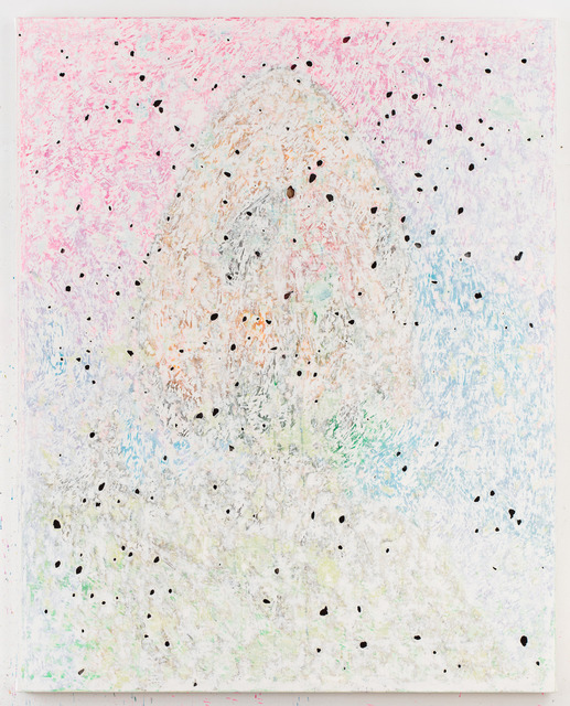 , 'fallen god fallen god warrior 2 blue green ancestral landscape,' 2017, Vigo Gallery