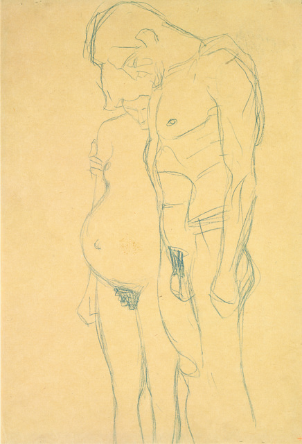 , 'Pregnant Woman and Man,' 1903-1904, Galerie St. Etienne