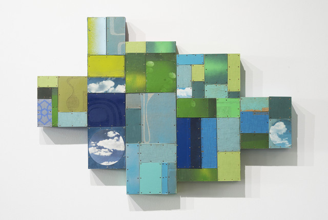 , 'Future Formations (blue/green),' 2018, Page Bond Gallery