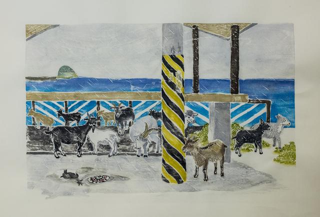 , 'Koto Island series: Hiding lambs ,' 2018, Artify Gallery