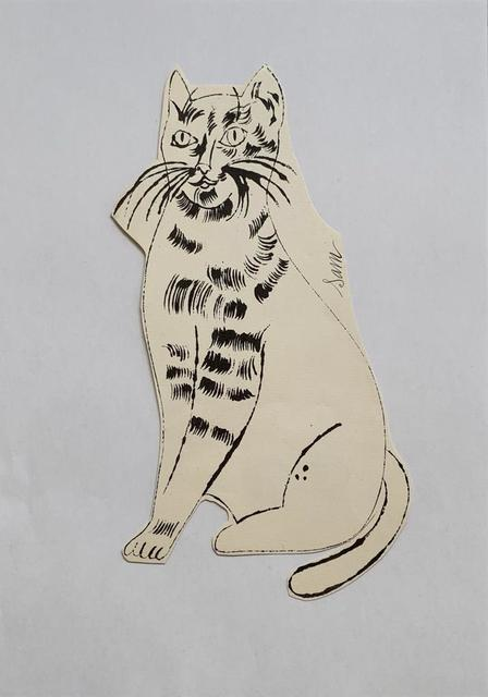 Andy Warhol, '25 Cats Name[d] Sam and One Blue Pussy IV.55', ca. 1954, Print, Offset lithograph, Hamilton-Selway Fine Art