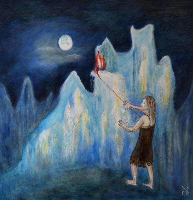 Margaretha Gubernale, 'Power of inner Fire', 2018, ARTBOX.GALLERY