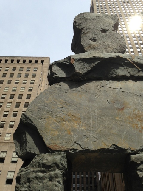 , 'Ugo Rondinone: Human Nature,' On view at Rockefeller Center, New York City, April 23 , June 7, 2013, Public Art Fund