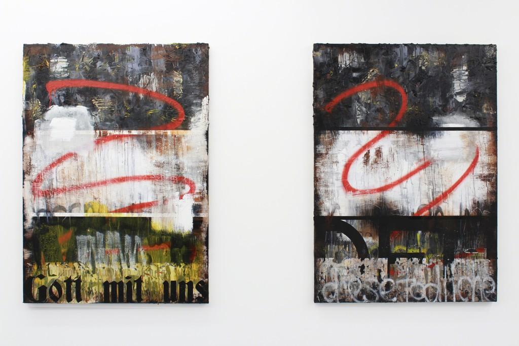 Expressive Gestures, Installation view Zavier Ellis, 2017