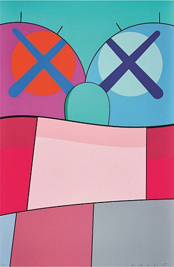 KAWS, 'No Reply Print No. 8', 2015, Georgetown Frame Shoppe