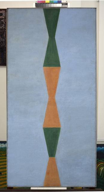 , 'Ampulhetas,' Década de 70, Almeida e Dale Galeria de Arte