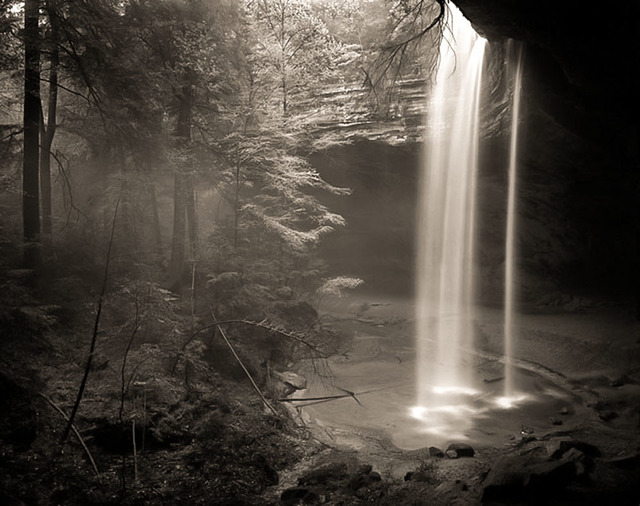 Frank Hunter, 'Ash Cave after a Rainfall (#101)', Thomas Deans Fine Art