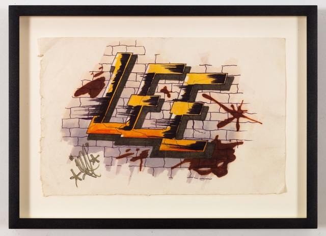 Lee Quinones, 'Lee Letter Study (HowardTheDuck)', 1978, James Fuentes