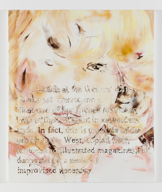 Paulina Olowska, 'Improvised necessity', 2011, Simon Lee Gallery