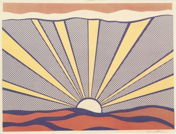 Roy Lichtenstein, 'Sunrise', 1965, Vertu Fine Art