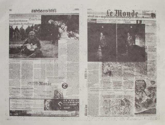 Jacob Kassay, 'Untitled 7/7 (Le Monde)', 2013, Julien's Auctions