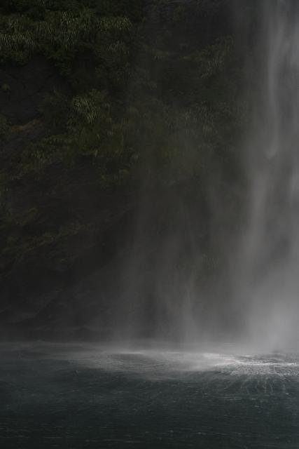 , 'Base of a Rain Cascade, Milford Sound, New Zealand, Autumn 2018,' 2018, Huxley-Parlour