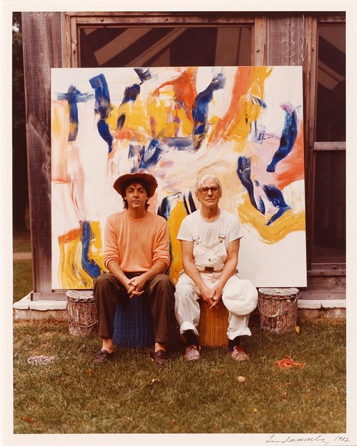 , 'Paul McCartney and De Kooning,' 1982, Parrish Art Museum