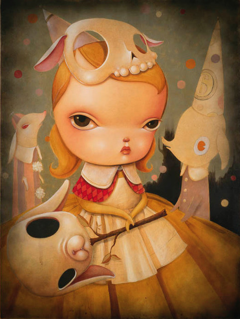 , 'Alice Between the Moon and Stars,' 2014, AFA Gallery