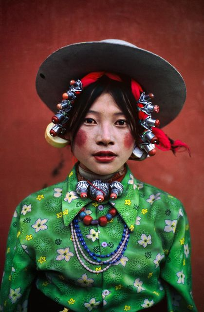 , 'Woman at Horse Festival, Tagong, Tibet,' 1999, Etherton Gallery