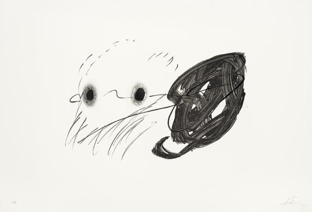 Antoni Tàpies, 'Regard', 1982, Print, Lithograph on Arches paper, Galerie Lelong & Co.