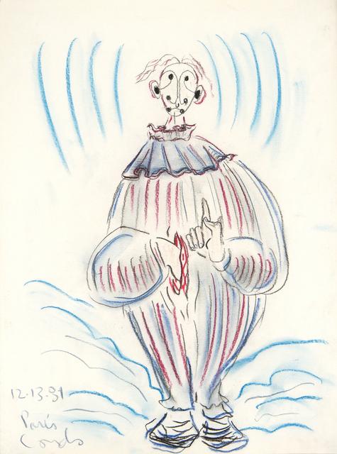 George Condo, 'Untitled (Paris)', 1981, Reis Studios