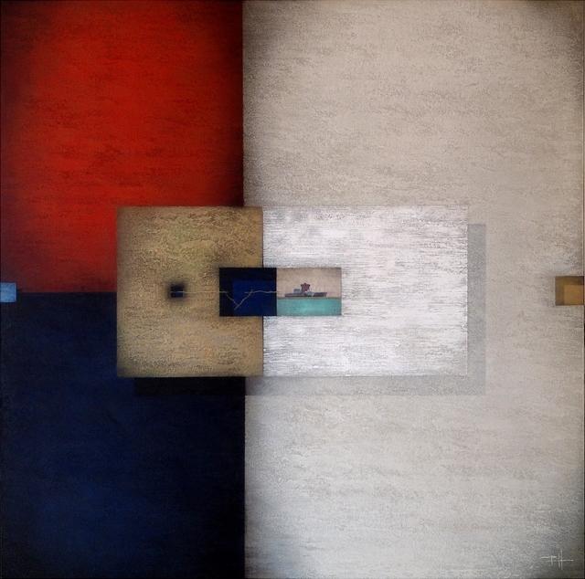 Frank Jensen, 'Construcciones', 2019, Painting, Acrylic on canvas, Anquins Galeria