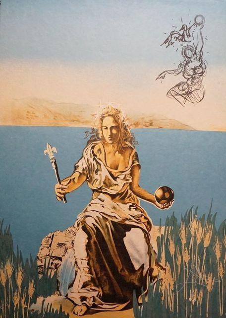 Salvador Dalí, 'Visions Surrealiste Coronation of Gala', 1976, Print, Lithograph, Fine Art Acquisitions Dali