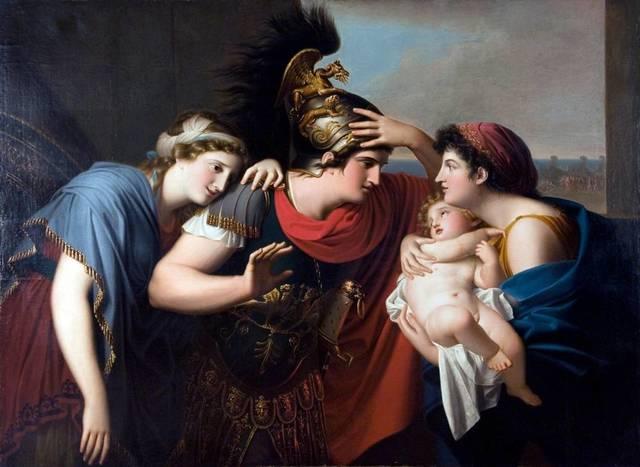 Gaspare Landi, 'Incontro di Ettore con Andromaca (The Encounter of Hector and Andromache)', 1794, Peyton Wright Gallery