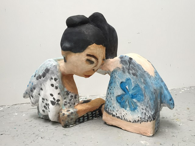, 'Whispering Titas,' 2015, Taymour Grahne Gallery