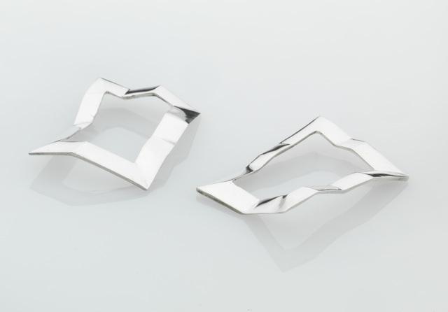 , 'Earrings ,' 2014, Pangolin