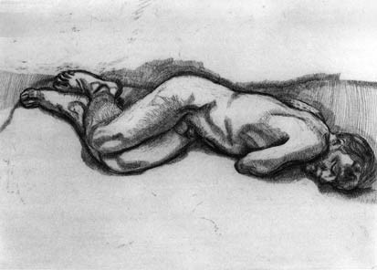 , 'Naked Man on a Bed,' 1987, Marlborough London