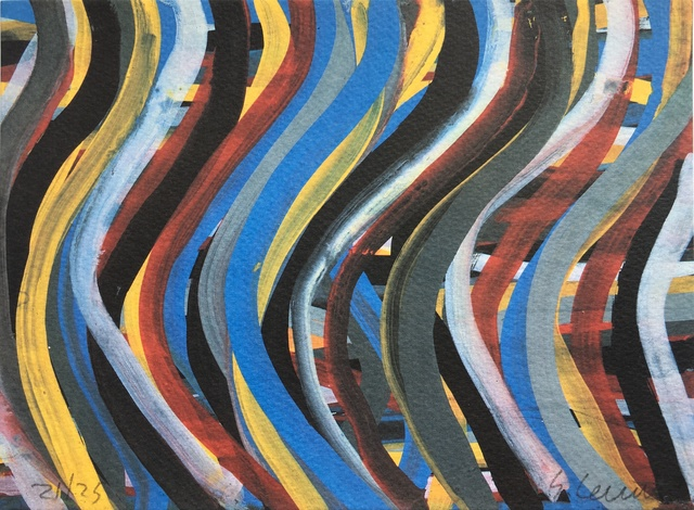 , 'Brushstrokes: Horizontal and Vertical, Plate #8,' 1996, F.L. Braswell Fine Art