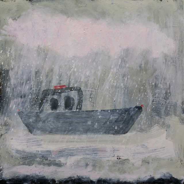 , 'boat in bad weather,' 2017, Sears-Peyton Gallery