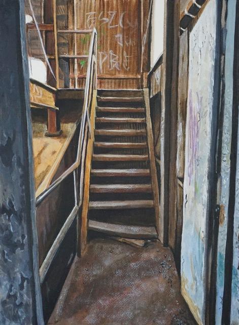 , 'Rust,' 2017, Deep Space Gallery