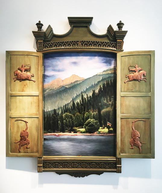 , 'Not Everyone's Heaven - 3,' 2017, Aicon Gallery