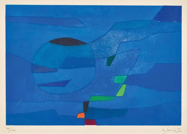 Gustave Singier, ' Jardin marin', 1960, Le Coin des Arts