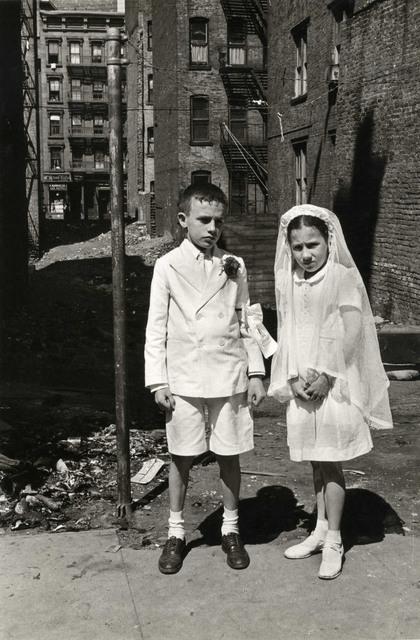 Helen Levitt, 'N.Y.C. (Communion)', 1945, Laurence Miller Gallery